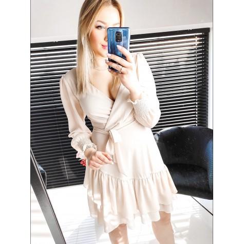 Kylie - Delikatna sukienka z szyfonu