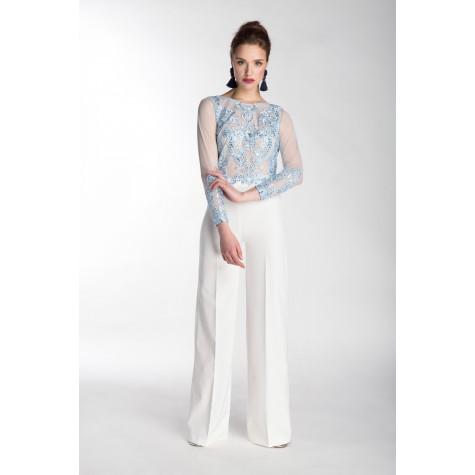 Elegancki komplet spodnie oraz bluzka Kombinezon Nicki od Flove
